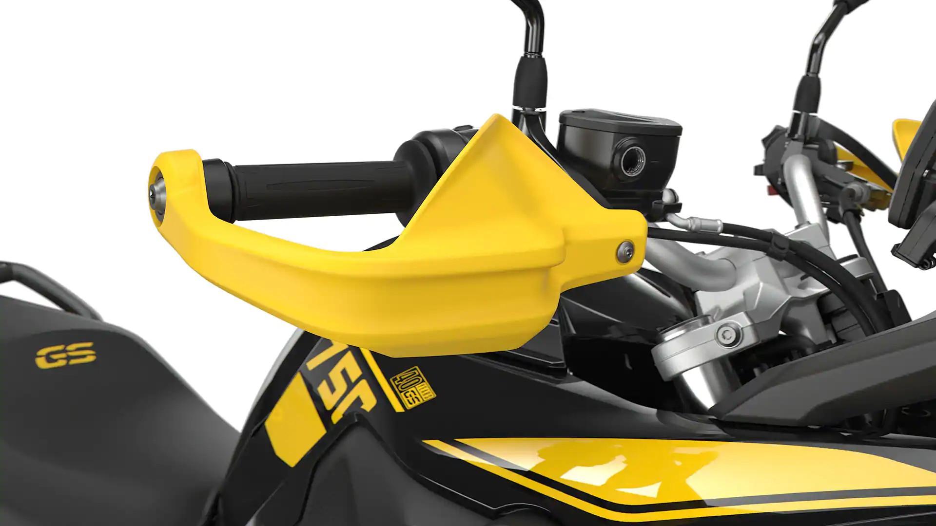 Захист рук жовтого кольору