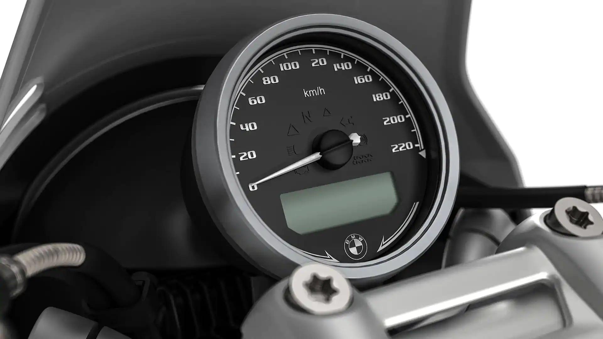 Класичний круглий спідометр