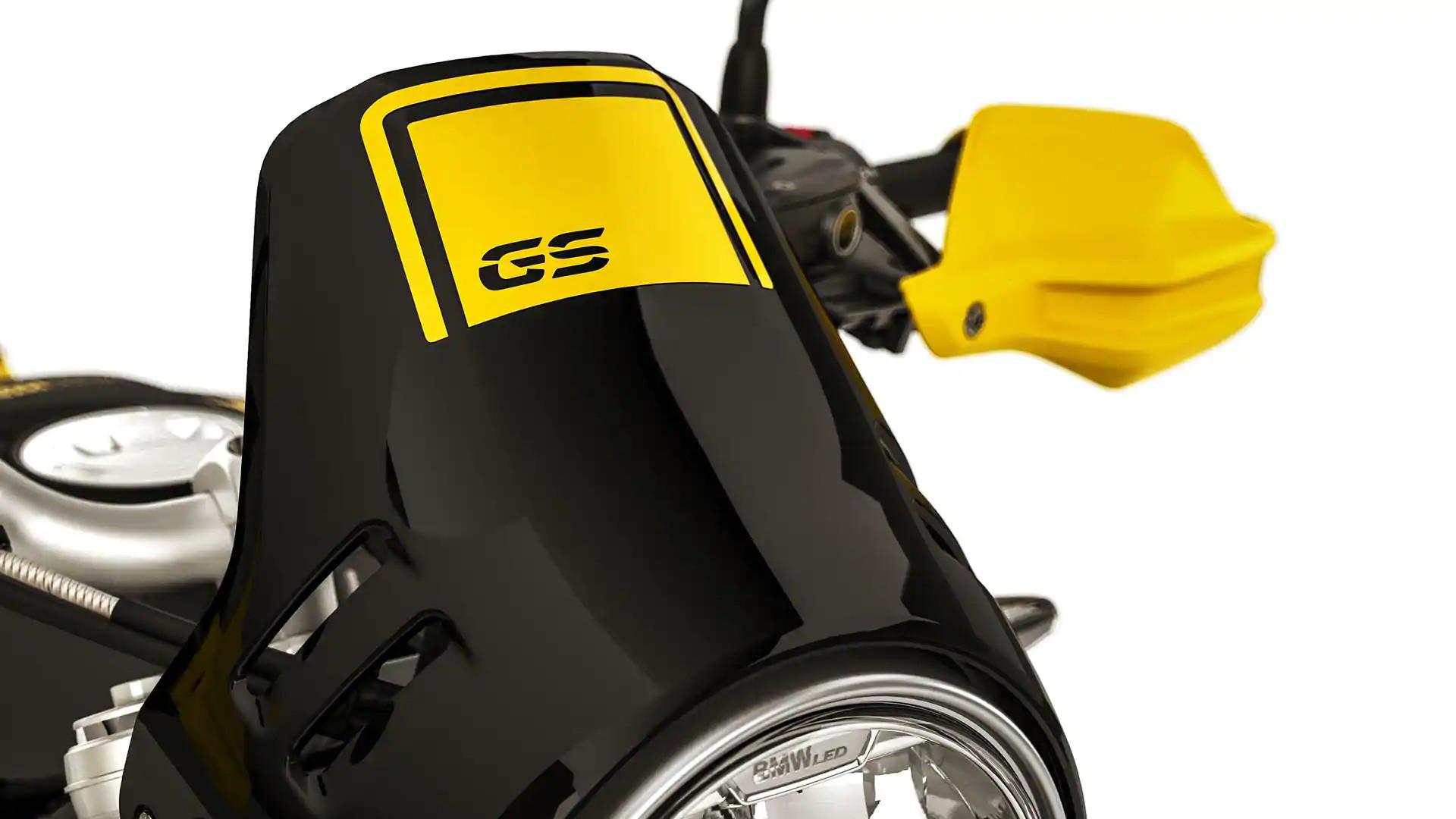 Вітрозахисний щиток з логотипом GS