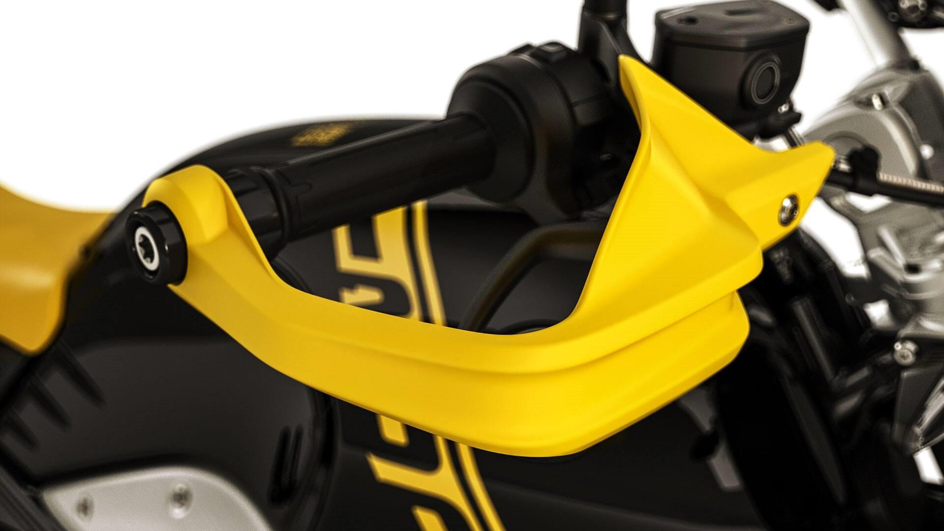 Жовтий захист рук