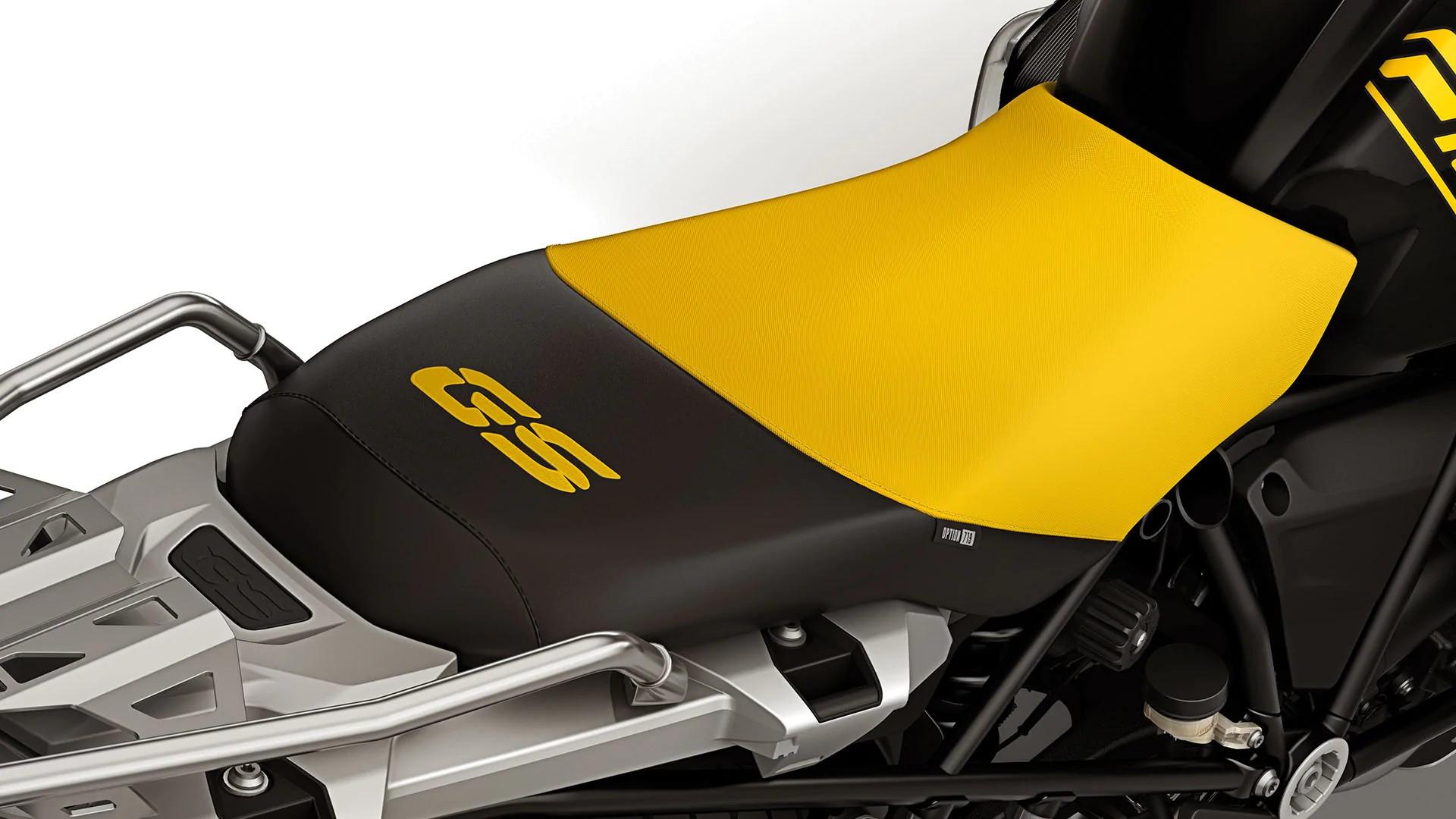 Чорно-жовте сидіння