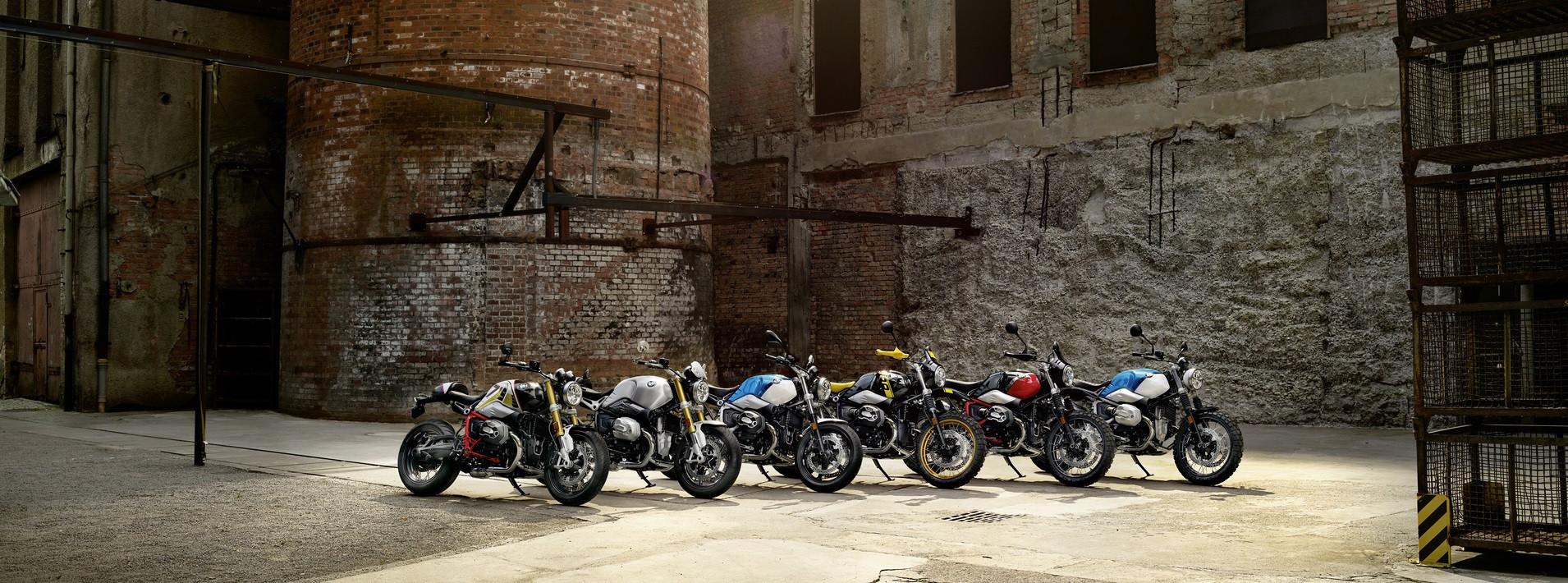 Оновлене сімейство BMW R nineT