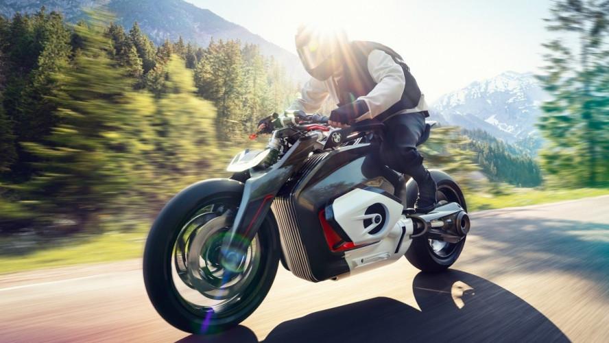 BMW Motorrad представляє Vision DC Roadster.